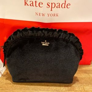 Kate spade Marcy black cosmetic case